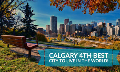 Calgary Alberta 4th Best City to live in