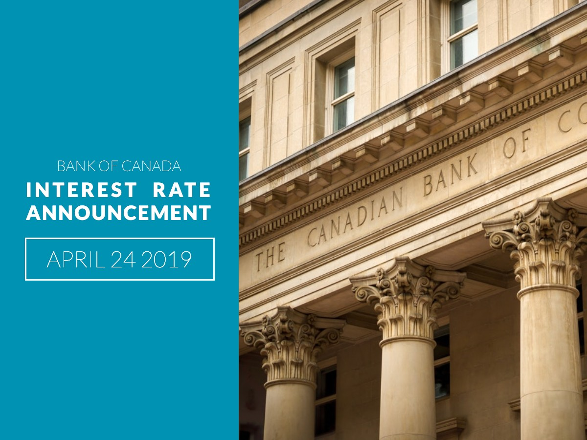 Bank of Canada Rate Announcement