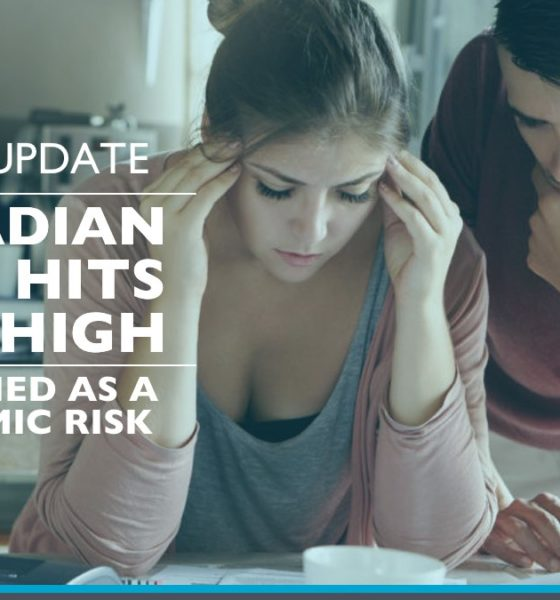Canadian Debt levels on the rise