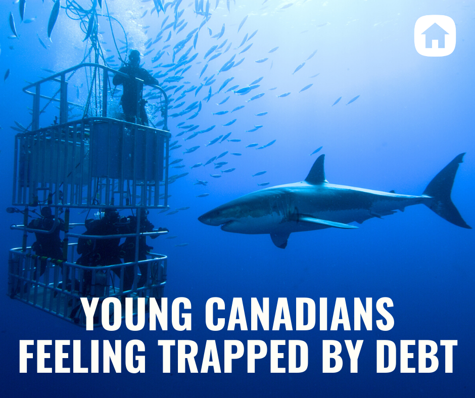 Young Canadians are Feeling Trapped by Debt.