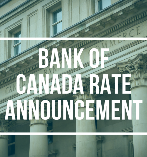 BANK OF CANADA RATE January 22 2020